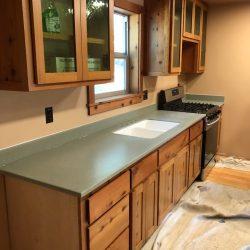 cabinet kitchen sink