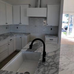 new white cabinets